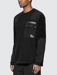 White Mountaineering Patched Sweatshirt Black