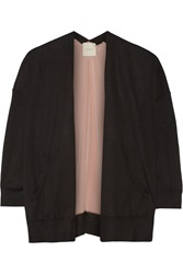 Mason By Michelle Mason Cashmere And Silk Cardigan Black