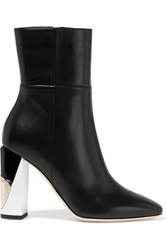 Jimmy Choo Melrose Leather Boots Black