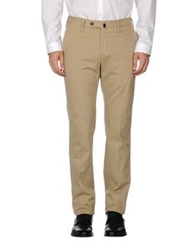 Vigano' Casual Pants Beige