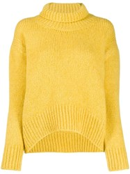 Ermanno Scervino Ribbed Roll Neck Jumper 60
