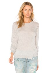 27 Miles Malibu Lucina Crew Neck Sweater Gray