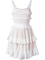 Antonino Valenti Melissa Skater Dress White