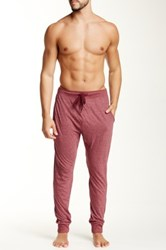 Bottoms Out Tapered Knit Jogger Purple