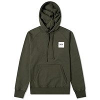 Wood Wood Fred Popover Hoody Green