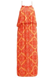 Object Objnevada Maxi Dress Canyon Sunset Brown