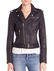 The Kooples Leather Effect Jacket