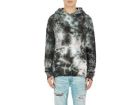Amiri Men's Tie Dyed Cotton Hoodie Dark Green No Color