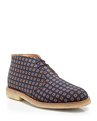 Mark Mcnairy Printed Chukka Boots Blue