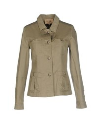 Alviero Martini 1A Classe Coats And Jackets Jackets Women Military Green