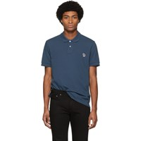 Paul Smith Ps By Blue Zebra Slim Polo