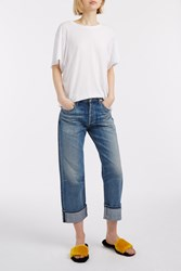 Citizens Of Humanity Cora Turn Up Boyfriend Jeans Blue
