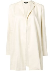 Theory Overlay Luxe Linen Jacket Neutrals