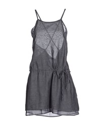 Crossley Short Dresses Grey