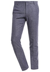 Selected Homme Shdone Myloiver Suit Trousers Grey Melange Mottled Grey