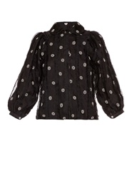 Jupe By Jackie Hayward Frill And Embroidered Shirt