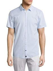 Strellson Sidney Striped Slim Fit Shirt Pastel Blue