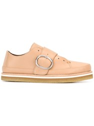 Sportmax Buckled Loafers Nude Neutrals