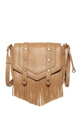 Carlos Santana Riley Flap Crossbody Beige