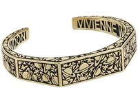 Vivienne Westwood Angelo Open Bangle Oxidized Gold