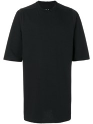 Rick Owens Oversized T Shirt Men Cotton S Black