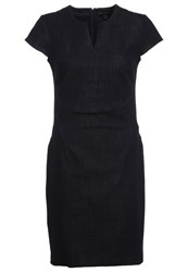 Banana Republic Denim Dress Navy Dark Blue