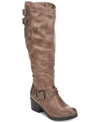 Carlos By Carlos Santana Cara Tall Riding Boots Women's Shoes Taupe
