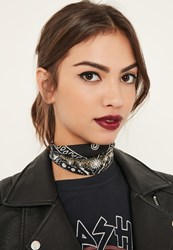 Missguided Black Diamante Detail Scarf Choker Necklace