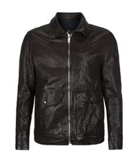 7 For All Mankind Leather Pilot Jacket