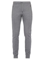 Falke Ess Prep Cotton Blend Track Pants Grey