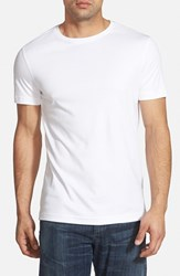 Robert Barakett Men's 'Georgia' Slim Fit T Shirt White