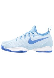 Nike Performance Air Zoom Ultra React Clay Outdoor Tennis Shoes Ice Blue Comet Blue University Blue Light Blue