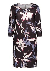 Betty And Co. Floral Print Jersey Dress Multi Coloured Multi Coloured