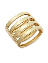 Jules Smith Designs Hinge Bar Cuff Bracelet Gold