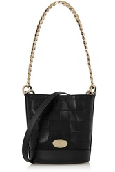 Mulberry Jamie Croc Effect Leather Bucket Bag