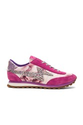 Marc Jacobs Astor Lightning Bolt Sneaker Fuchsia