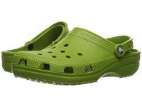 Crocs Classic Cayman Unisex Parrot Green Clog Shoes