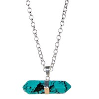 Tiana Jewel Goddess Turquoise Necklace Siena Collection Blue