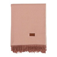 Gant Cashmere Blend Throw 130X180cm Pink