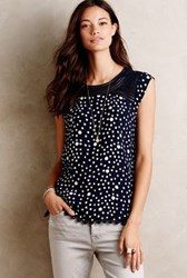 Meadow Rue Mackenzie Blouse Navy