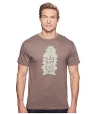 Marmot Wooly Tee Short Sleeve Brown Heather Men's T Shirt