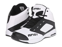 And 1 Typhoon Bright White Stretch Limo Bright White Men's Basketball Shoes