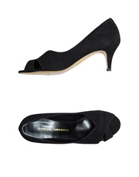Gaspard Yurkievich Pumps With Open Toe Black
