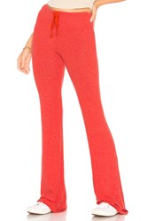 Wildfox Couture Vin Varsity Tennis Club Pant Red