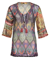 Desigual Rugos Tunic Potent Purple Red