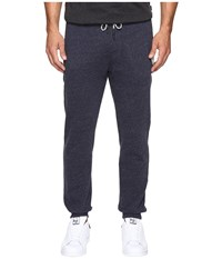 Rip Curl Surf Check Fleece Pants Navy Men's Casual Pants