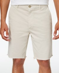 American Rag Men's Stretch Twill Shorts Only At Macy's Stoneblock