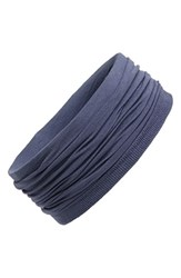 L. Erickson Relaxed Turban Headband Blue