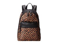 French Connection Piper Backpack Leopard Black Backpack Bags
