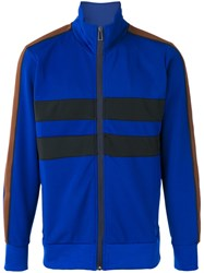 Paul Smith Ps By Zip Cardigan Blue